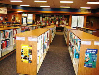 Evergreen Middle School Library